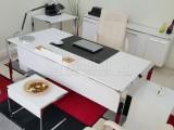 İstanbul Ofis Masası Apple Makam Takımı Hg.Beyaz