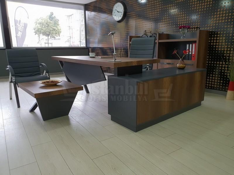 İstanbul Ofis Yönetici Masa Takımı Elegant