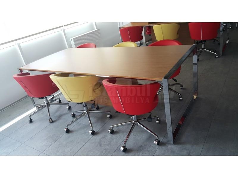 Kütüphane Alanı ve Toplu Çalışma Masaları