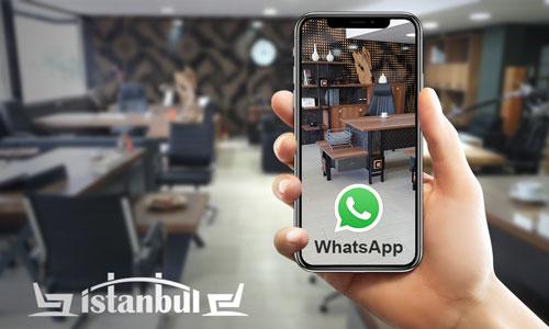 WhatsApp aracılığı ile Yurtiçi ve Yurtdışı satış desteğimiz var!