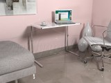 Clariss Geniş Laptop Masası Beyaz