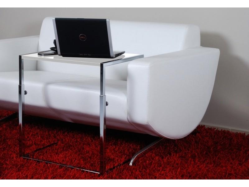 Bianca Laptop Sehpası Highgloss Beyaz